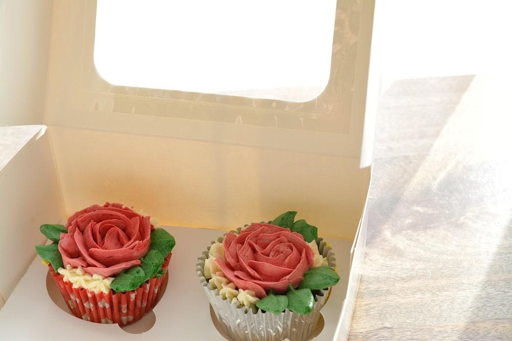 Porcukor Kezmuves Cukraszmuhely Design Torta Cupcake Szeged Webshop Cupcake Box 2 Darabos Kiszereles