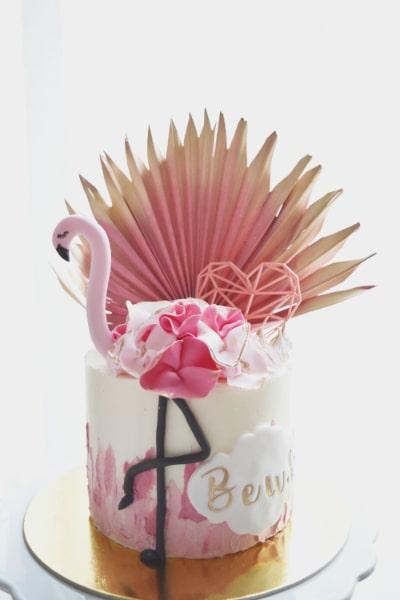 porcukor kezmuves cukraszmuhely szeged design torta referencia flamingo origami